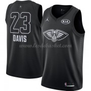 Maillot NBA Pas Cher New Orleans Pelicans Anthony Davis 23# Black 2018 All Star Game Swingman..